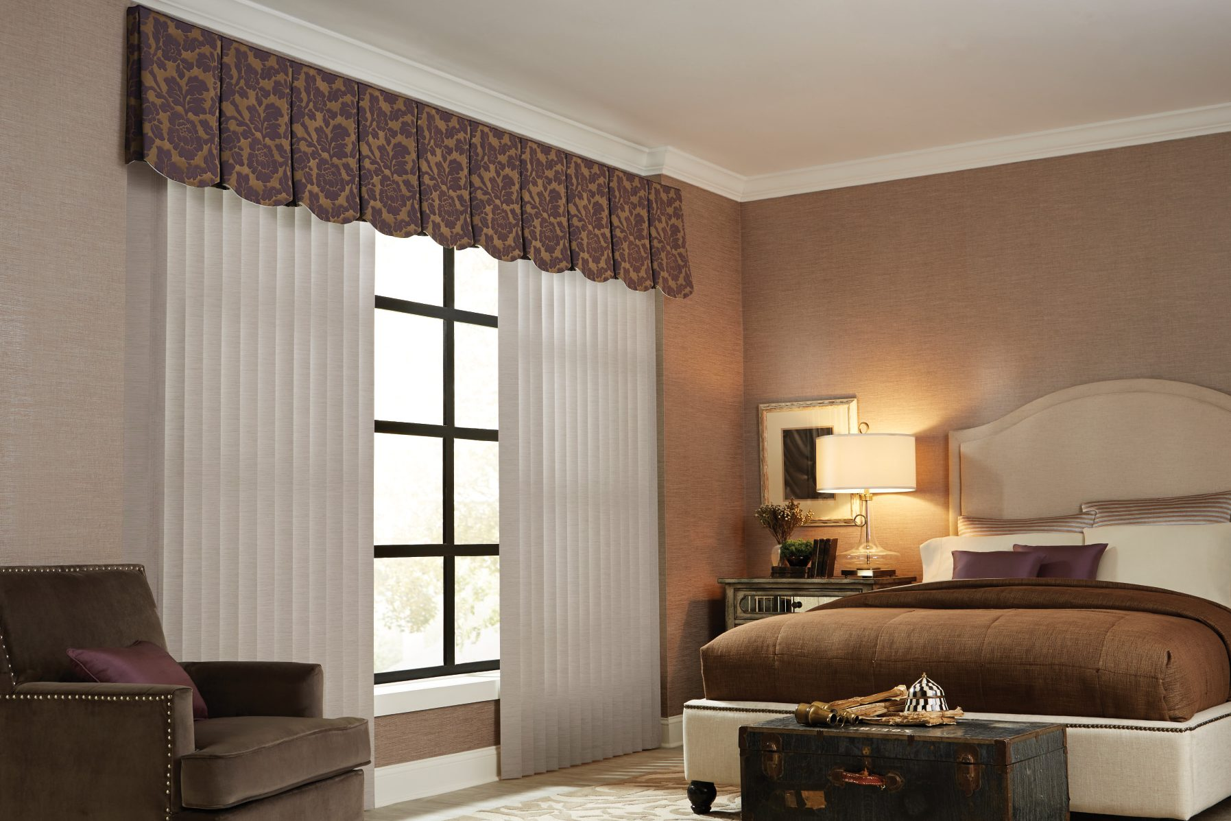 Graber Vertical Sheer Blind Sunset Blind And Shadesunset