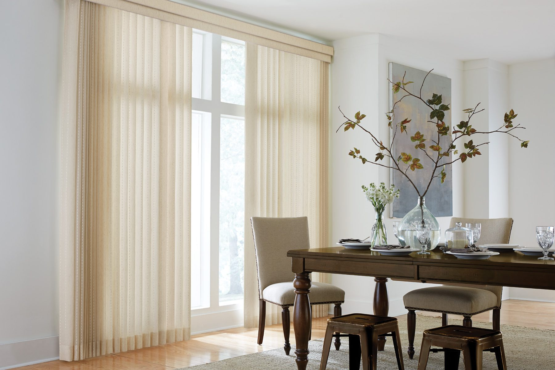 Shade O Matic Vertical Blind Sunset Blind And