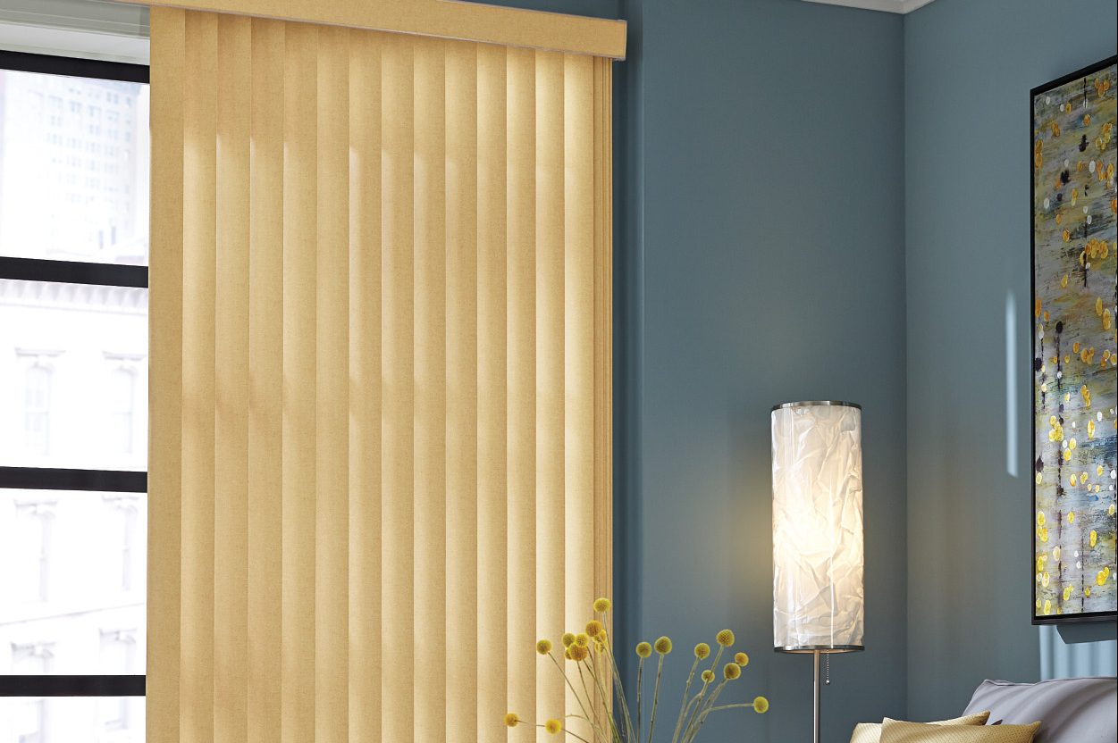 Graber Vertical Vinyl Blind Sunset Blind And Shadesunset